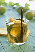 Salt-pickled lemons (Morocco)