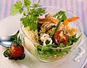 Meeresfrüchtesalat auf thailändische Art