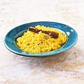 Spicy saffron pilaw