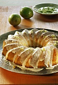 Ring cake with lime icing (Brazil)