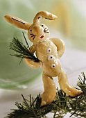 Easter Bunny (spelt dough without milk or egg)