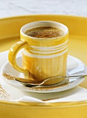 Caffè alla Borgia (espresso with apricot schnapps & cinnamon)
