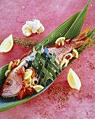 Red mullet, Antilles style