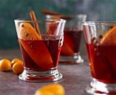Orange and cinnamon punch