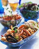 Insalata di frutti di mare (Seafood salad, Italy)