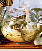 Lactic acid fermented celeriac