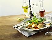 Insalata di capesante (Scallop salad, Italy)