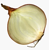 Half an onion (close-up)