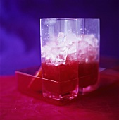 Cherry Lips (long drink with cachaca, vodka & cherry juice)