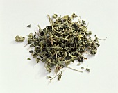 Fenugreek leaves, dried (Trigonella foenum graecum)