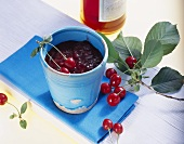 Sour cherry jam with Campari