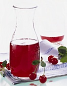 Sour cherry syrup