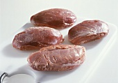 Pork cheeks without fat or rind
