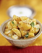 Potatoes with cumin and coriander