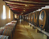 L'Ormarins Winery, founded 1694, Franschhoek, S. Africa