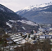 Höchst gelegener Weinberg in Europa, Visperterminen, Schweiz
