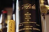 Eine Flasche F. X. Pichler Riesling, Loiben, Niederösterreich