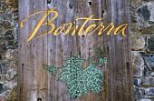 Schriftzug am Eingang zum Organic Vineyard of Bonterra, Ukiah