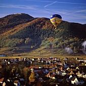 Turckheim von oben, Alsace, Frankreich