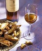 Cantucci e Vin Santo (Almond biscuits & dessert wine, Italy)