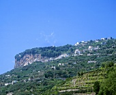 The town of Amalfi, Salerno, Campania, Italy