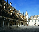 'Hôtel Dieu' in Beaune (Côte de Beaune, Burgundy, France)