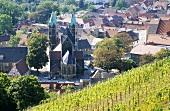 Vineyards near Freyburg, Saale-Unstrut