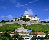 Marienburg Fortress, Würzburger Schlossberg & 'Innere Leiste'