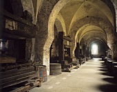 Lay Brothers Dormitory, Eberbach Monastery, Rheingau, Germany