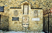 The 'Wine Fountain' built by Bodegas Irache, Ayegui, Spain