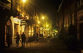 Colmar by night, Alsace, France