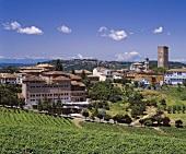 Gaja Winery (on left), Barbaresco, Piedmont, Italy