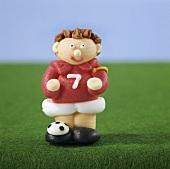 Sugarpaste footballer