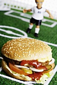 The big match: Miniature footballers versus Hamburger SV