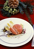 Smoked salmon Claudine with Parmesan and mustard dressing