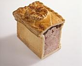 Pâté en croûte (ham pie, Alsace)