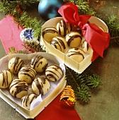 Marzipan truffles
