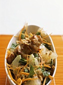 Goi buoi (pomelo and chicken salad, Vietnam)