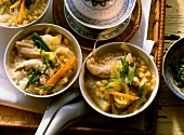Vegetable stew with chicken breast fillet