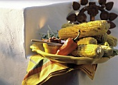 Grilled Corn on the Cob with Paprika Paste