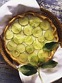 Cheesecake with limes