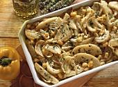 Potato and onion casserole