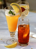 Italian drinks: Americano, Fellini, Venezia