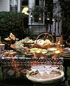Mexican Buffet in the Garden