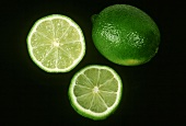 Limes; Sliced and Whole