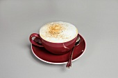 Red Cup of Capuccino