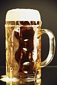 Beer in tankard