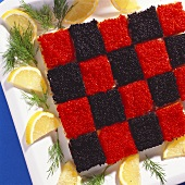 Caviar in the Shape of a Checkerboard
