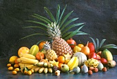 Many Assorted Tropical Fruits