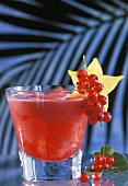 Drink: Long Distance with redcurrant juice & carambola